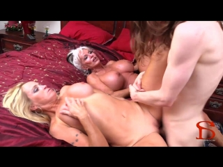 Sally D'Angelo, Dani Dare - Me Mom And Granny Part 2: Mom's 1st Anal Fuck [Incest, MILF, Mature, Mom, Anal, 720p]