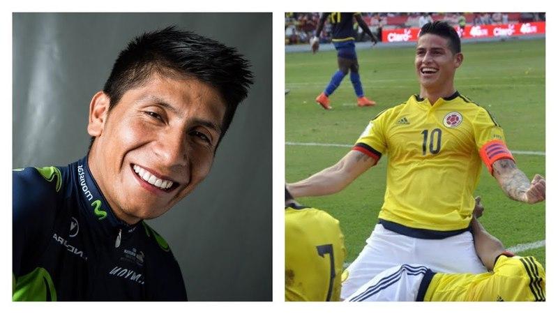 Miren el Mensaje de Nairo Quintana a James Rodriguez
