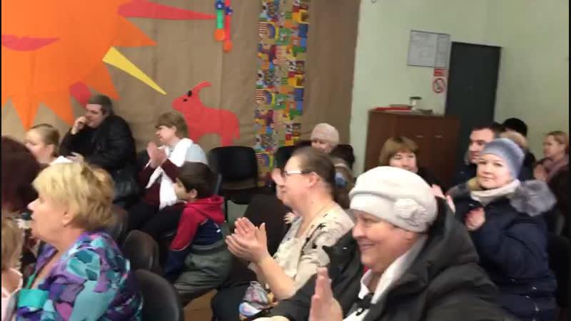Варя Барабошина Новый Год в Талицком СДЕ