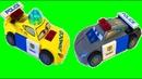 Игрушки Полицейские Машины Лего Тачки 3 Мультики про Машинки Играем Вместе