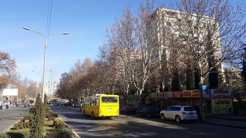 Tbilisi 5-11.1.2019. Sanzona (Guramishvili av.- Gudamakari str. - Chargali str.). სანზონა. Санзона