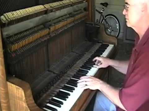Old piano adventure. Старое обер демпферное пианино c абстрактами ..звучание неподрожаемое.