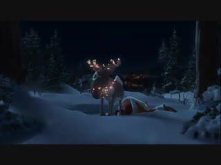 Betrunkener weihnachtsmann _d lustiges weihnachtsvideo {santa claus drunk} (animation).mp4