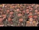 Voennyj parad v Severnoj Koree (