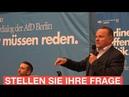 AfD Bürgerdialog in Berlin mit Georg Pazderski Thorsten Weiß Gottfried Curio Lars Peer Döhnert