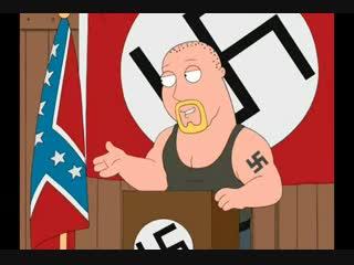 Гриффины - family guy | лоис и белый расист