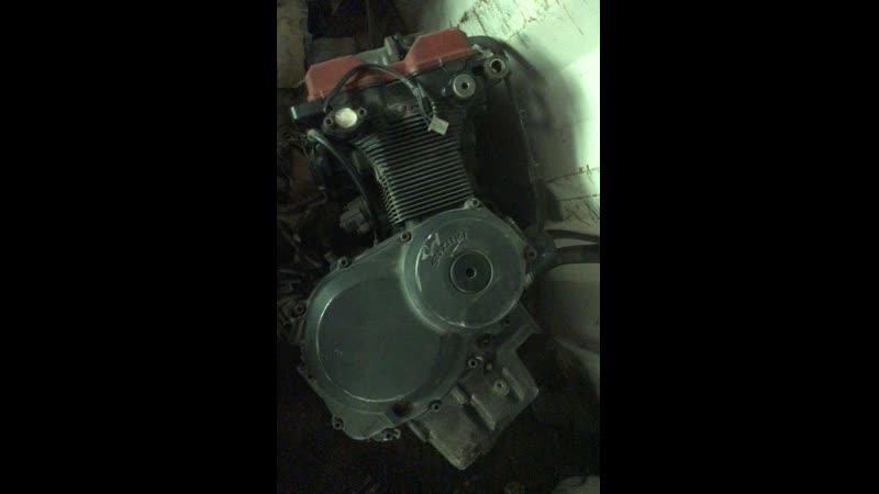 Проверка контрактного двигателя Suzuki RF400 (K712) перед отправкой клиенту   motod.ru