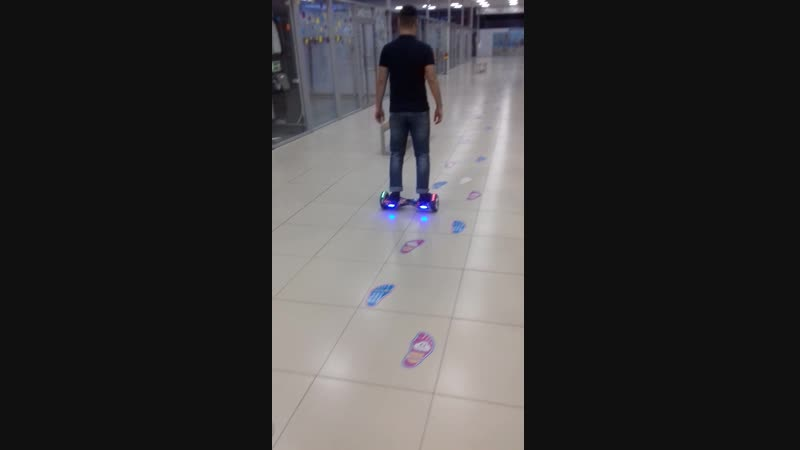 Гироборд Hoverbot A 3 LED Light