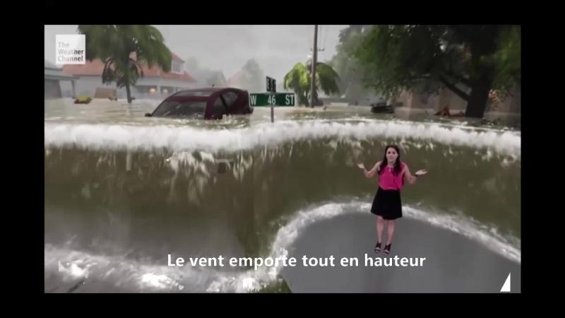 Comment les Ricains arrivent à te transformer une banale météo en un véritable spectacle catastrophe hollywoodien
