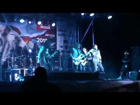 Концерт рок группы Ария в городе Невинномысск на фестивале АвтоШок 2018 часть 2