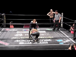 Jason Kincaid, Mizuki Watase vs. Brian Akki, Tomoya Hirata (DDT - DNA 44)