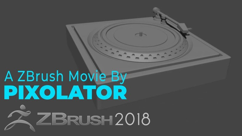 Project Primitive Turntable Time lapse by Pixolator ZBrushCentral