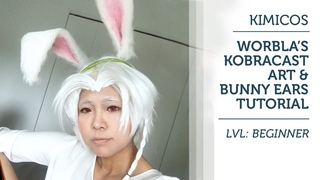 Kimidori Cosplay   Worbla's Kobracast Art & Bunny Ears Tutorial