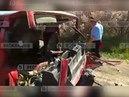 видео сместа страшного ДТП савтобусом вКрыму 1 мая 2018
