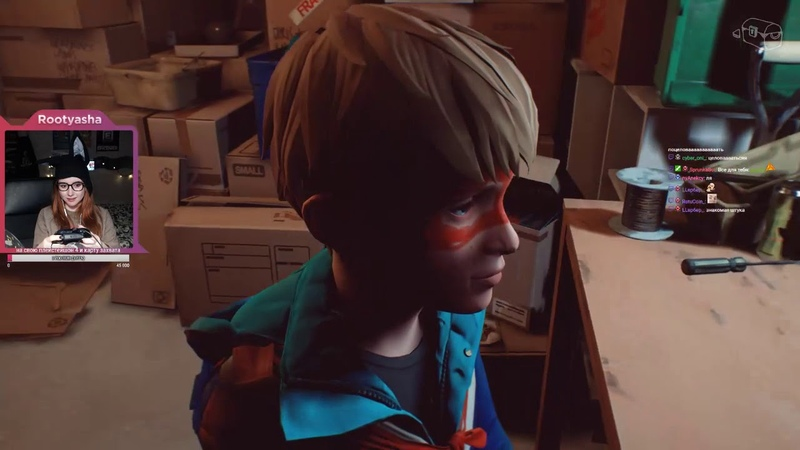 Captain Spirit by Rootyasha [22] игра от создателей Life is Strange