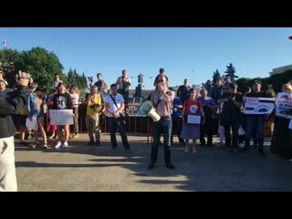 Питер против свалки в #ШИЕСЕ. Митинг. Трансляция СРОЧНО РАСПРОСТРАНЯЕМ ВИДЕО!!!!!!
