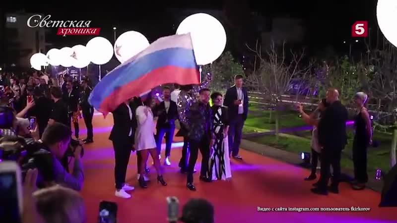 Светская хроника. Сергей Лазарев выступает на Евровидении-20019