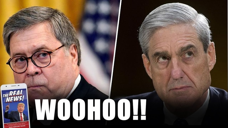 MUELLER IN DEEP CRISIS After AG Barr Just DID This To DEFEND Trump's COMMENT On Mueller Probe