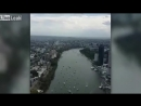 Liveleakcom Australian Air Force Boeing flies past skyscrapers