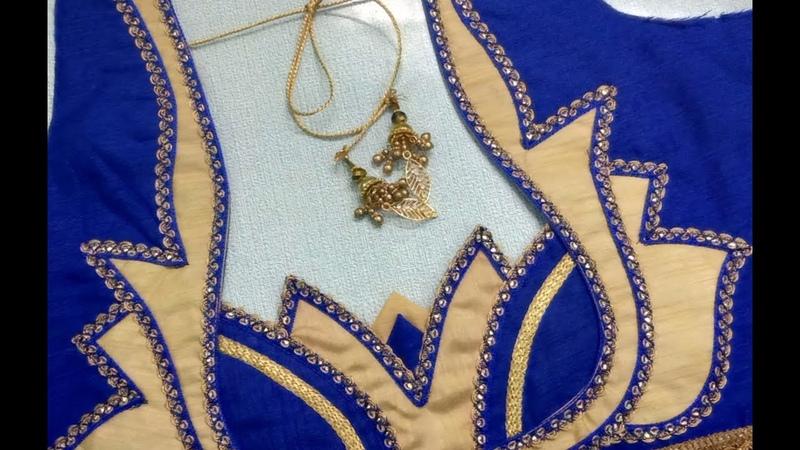 Beautiful blouse designing by PNR || Women's fashion blouse
