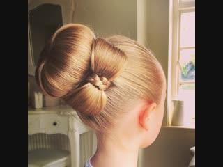 Да ведь это идеальная причёска для девочки!
