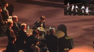 190115 BTS Reaction to GFRIEND (여자친구 무대보는 방탄소년단) 4K 직캠 by 비몽