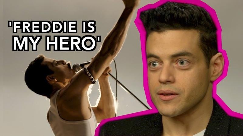 Does Bohemian Rhapsody do justice to Freddie Mercury's Bisexuality Rami Malek Interview