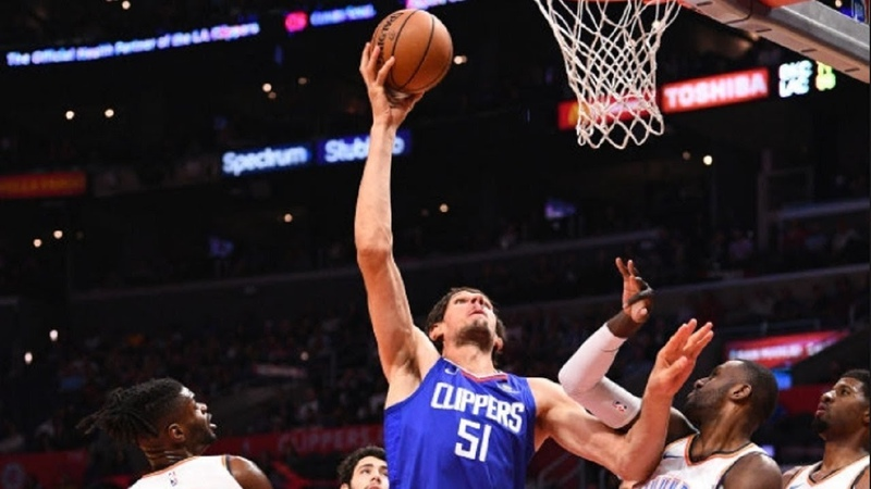 Boban Marjanovic BULLYING with HEIGHT Entire Thunder Defense