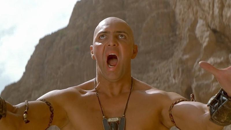 Имхотеп вызывает цунами - Мумия возвращается отрывок из фильма
