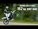 SUZUKI GSX R Dirt Bike 1000cc OFF ROAD test ride