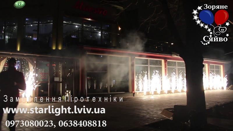 Компанія Зоряне Сяйвопід час зустрічі нового року в Ресторані Maestroорганізувала запальне ш
