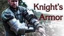 Доспехи рыцаря, латные руки Вальдбург-Цайль . Ковка рыцарских налокотников