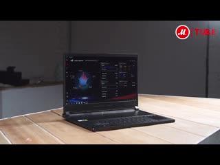 Обзор игрового ноутбука ASUS ROG Zephyrus S GX531GM