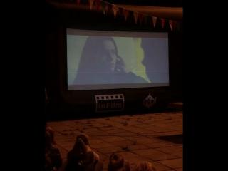Фестиваль уличного кино в парке культуры