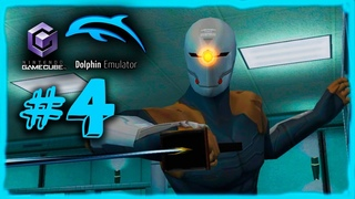 MGS: The Twin Snakes (Dolphin Emu) - Part 4 | Gray Fox Bossfight!!