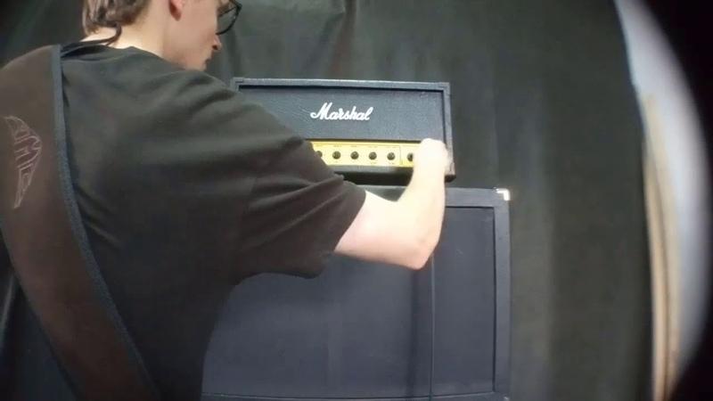 Marshall JCM800 на студии Sludge