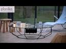 Ventless - стол с биокамином от Planika в магазине Биокамин