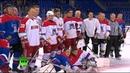 «Тигры» против «Медведей»: Путин и Лукашенко сыграли в хоккей