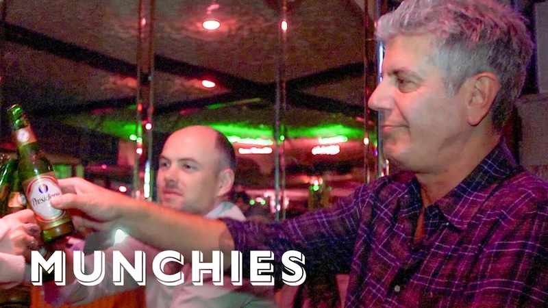 Munchies Throwbacks: Chef's Night Out with Anthony Bourdain