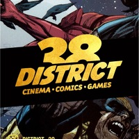 Логотип District38: комиксы, настольные игры в Иркутске