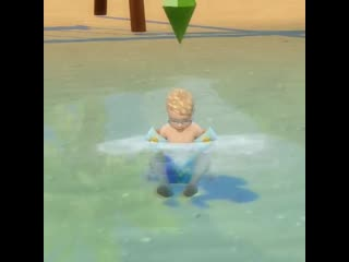 Dont mind me, just living my best island life. ts4islandliving