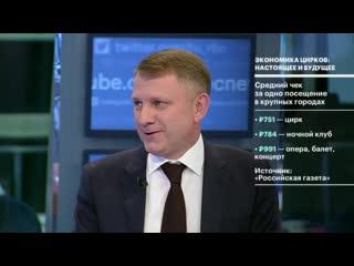 Экономика цирков: настоящее и будущее / Шемякин (2019) HD