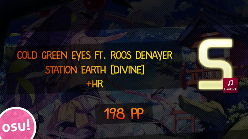 Are u ok?.. Station Earth Cold Green Eyes ft. Roos Denayer Divine HR 198pp!