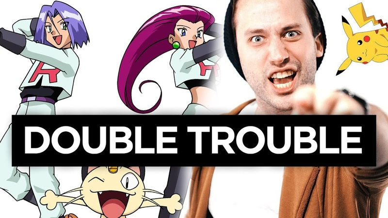 TEAM ROCKET Double Trouble Pok mon METAL cover by Jonathan Young feat. Nikki Simmons
