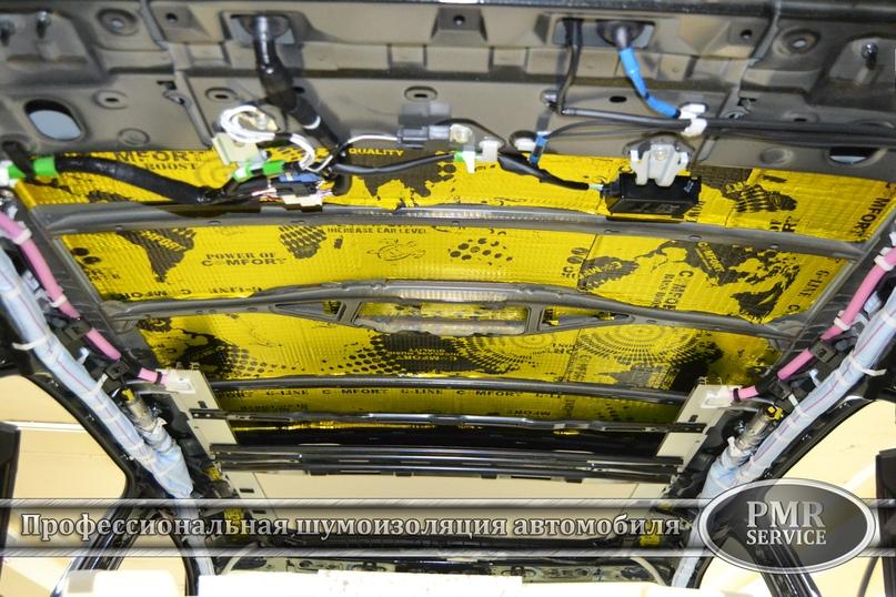 Шумоизоляция Lexus LX, изображение №5