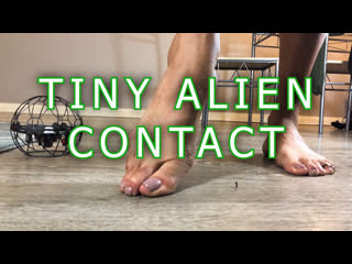 "Giantess cleo & lea | ""tiny alien contact"" 