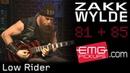 Zakk Wylde Plays Low Rider on EMGtv (2017)