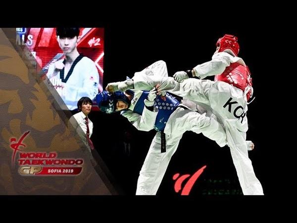 SOFIA 2019 WTGP_M-58kg Final KIM Tae-hun(KOR) vs JANG Jun(KOR)