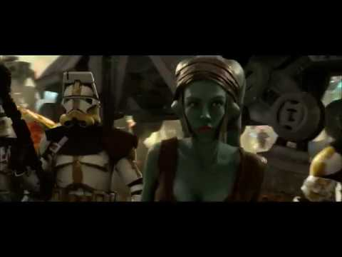 Star Wars- But only Aayla Secura scenes
