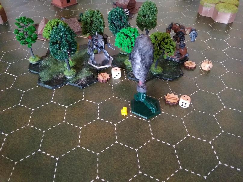 «Отрок» расстреливает отходящий байк куманов (на фото прокси модель)